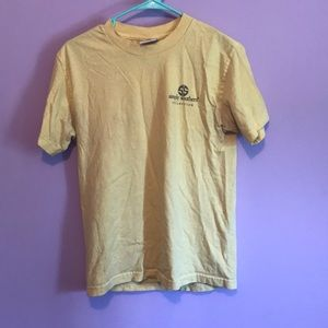 Yellow simply southern elephant T-shirt